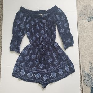 Hollister romper size small